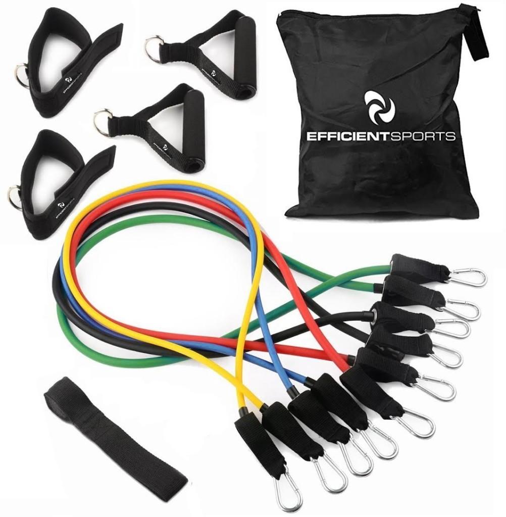 Efficient Sports Resistance Band Workout Set