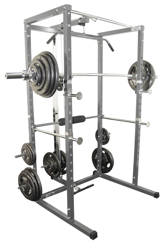 Power Rack with Lat Pull Attachment