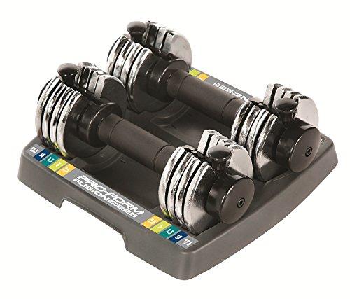 ProForm 25-lb. Adjustable Dumbbell Set