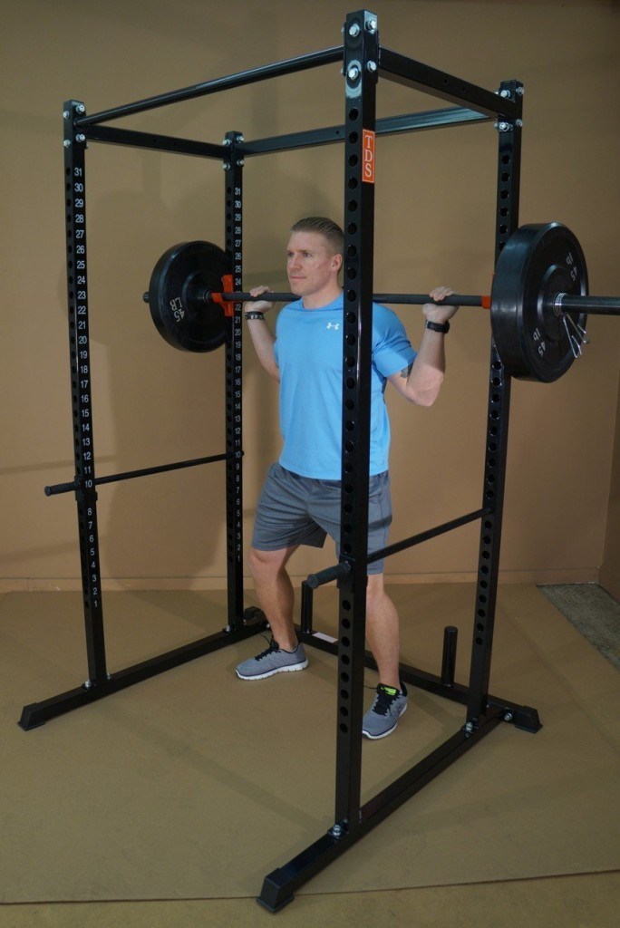 Super Power Rack with Bold Numbers