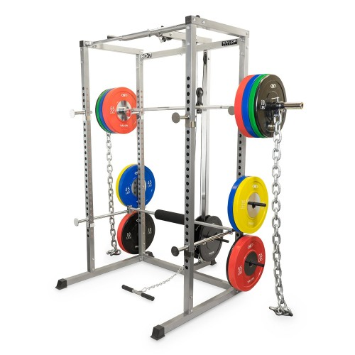 Valor Fitness BD-7 Power Rack with Lat Pull Attachment