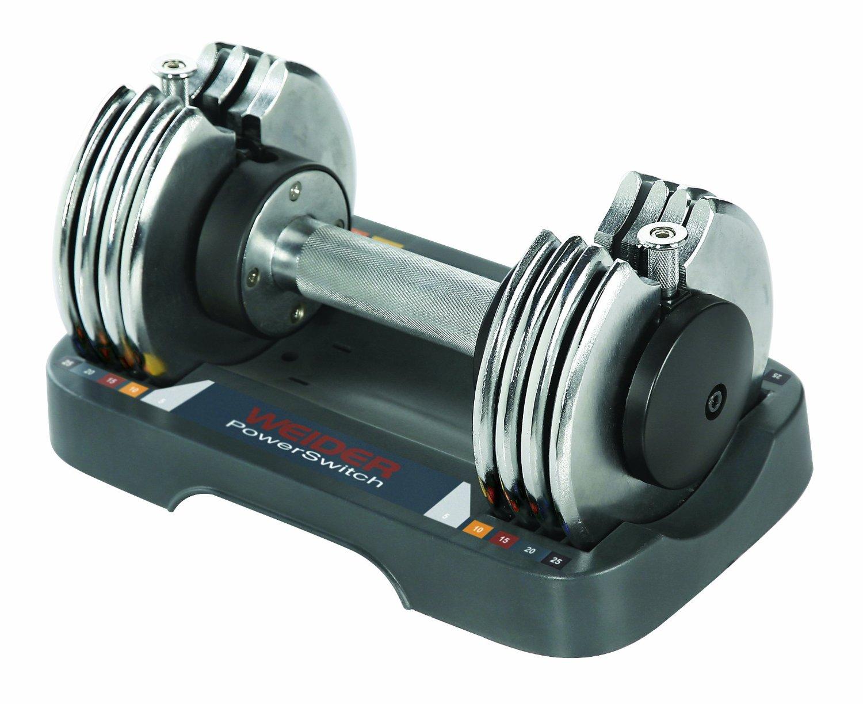 Weider Speed Weight Adjustable Dumbbell