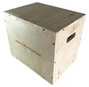 Rep 3 in 1 Wood Plyometric Box for CrossFit
