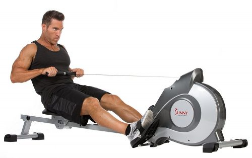 Sunny Health and Fitness SF-RW5515 Magnetic Rowing Machine