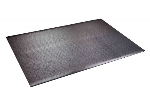 Supermats Solid Heavy Duty P.V.C. Mat for Home Gyms