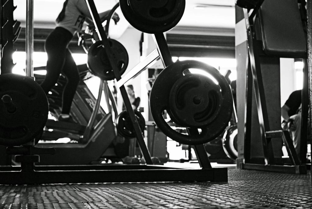 rowing machine gym weights