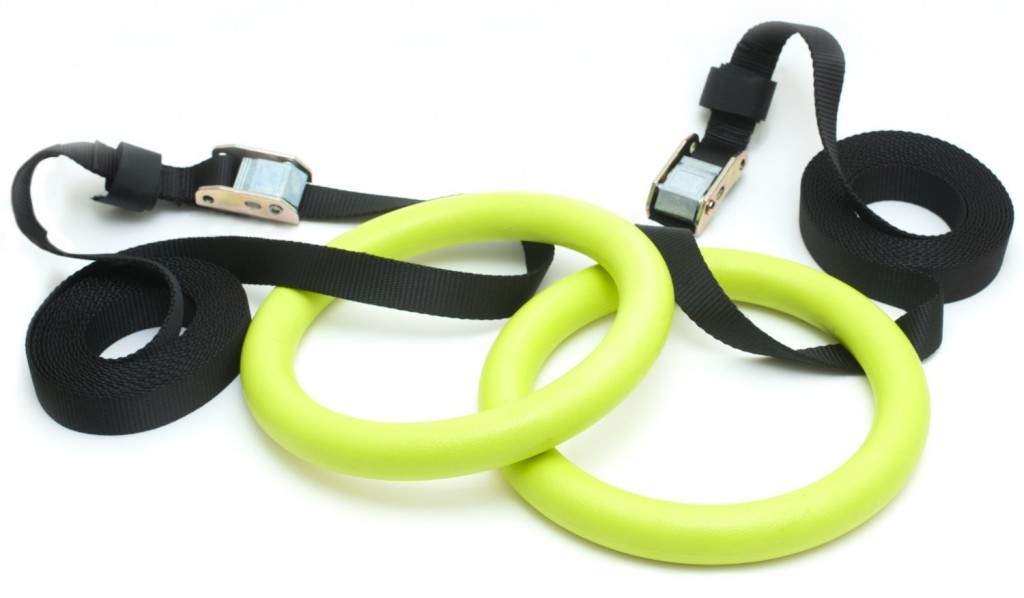 321 STRONG Gymnastics Rings With Adjustable Straps For Crossfit