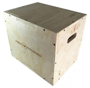 Rep Fitness 3 in 1 Wood Plyometric Box for CrossFit and Conditioning