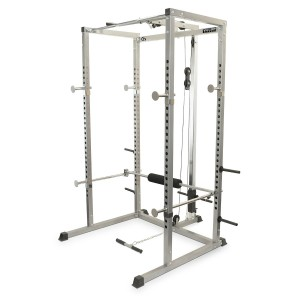 Valor Athletics Power Rack with Lat Pull Attachment