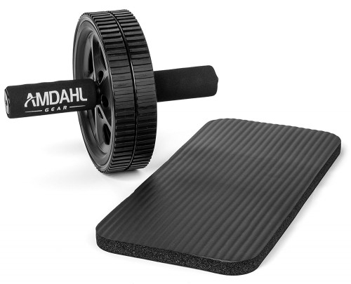 Amdahl Gear Dual Ab Wheel with Extra Thick Knee Pad