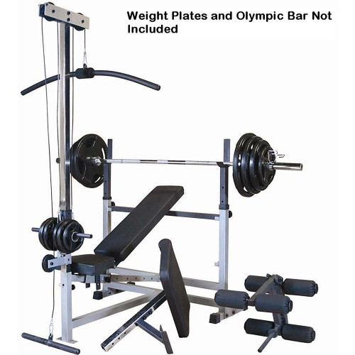 Body Solid Olympic Bench Package