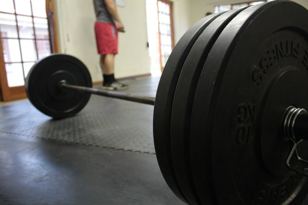 Bumper Plates and gym