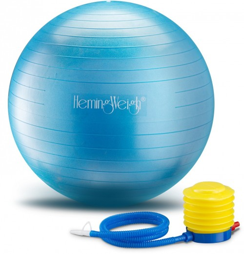 HemingWeigh Exercise Anti-Burst Ball For Fitness Stability and Yoga