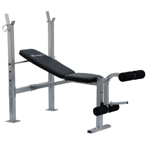 Soozier Incline Flat Exercise Free Weight Bench