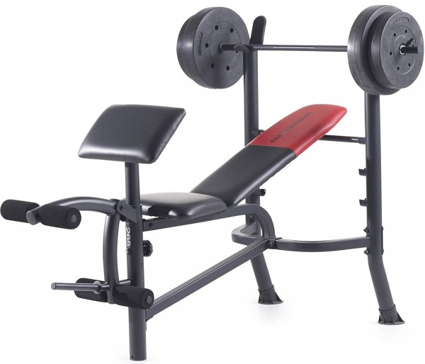 Weider Pro 265 Bench Press Home Gym Set