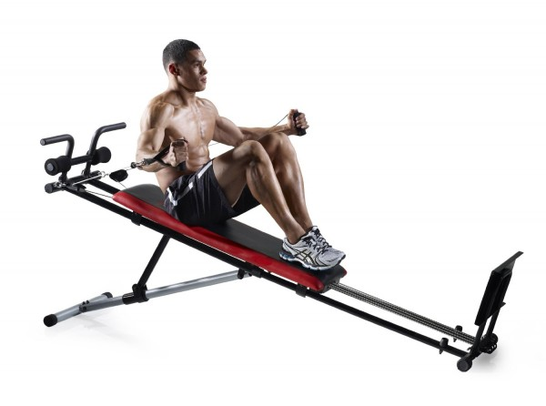 Workout on Weider Ultimate Body Works Machine
