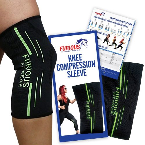 Furious Fitwear Knee Compression Sleeve