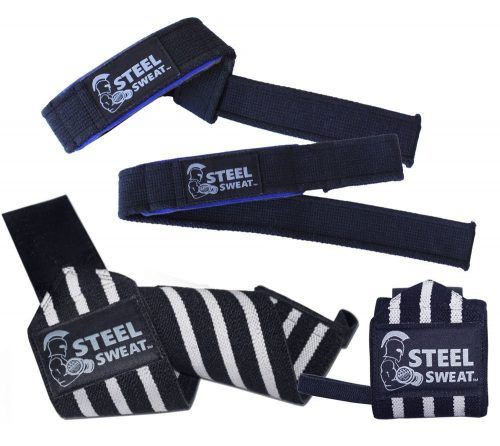 Steel Sweat Wrist Wraps