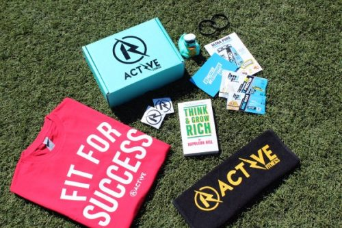 R-Active Fitness subscription box