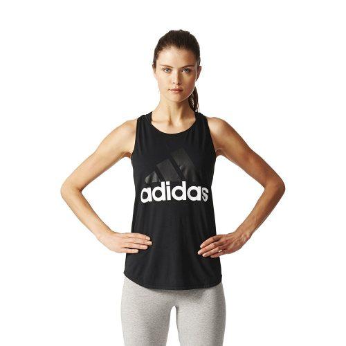 adidas Women's Essential Linear Logo Tank Top