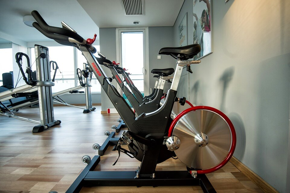 training bicycle