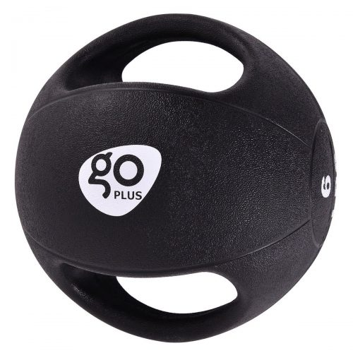 Goplus Dual Grip Medicine Ball for Fitness Weighted