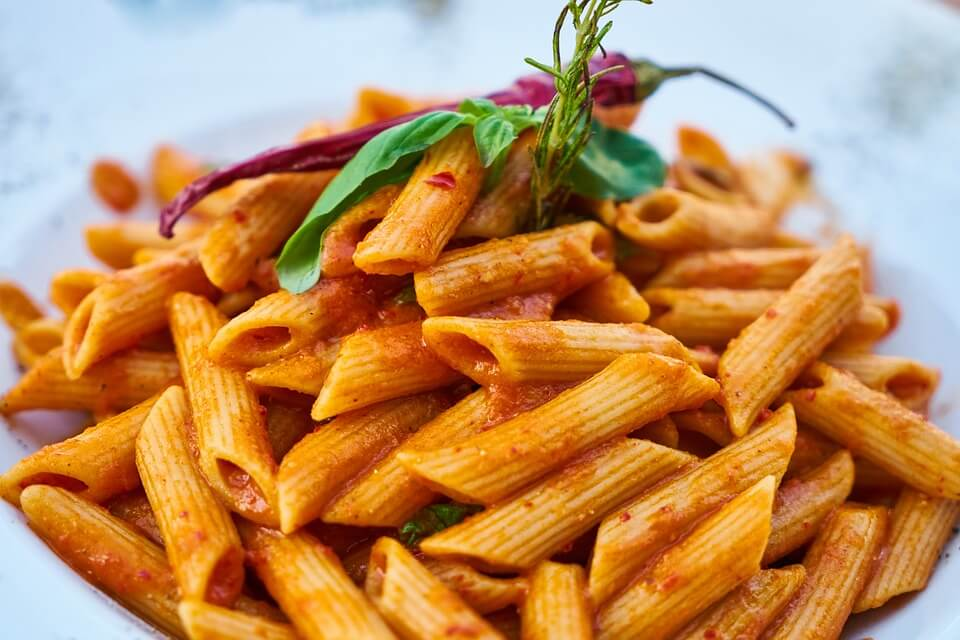 pasta meal