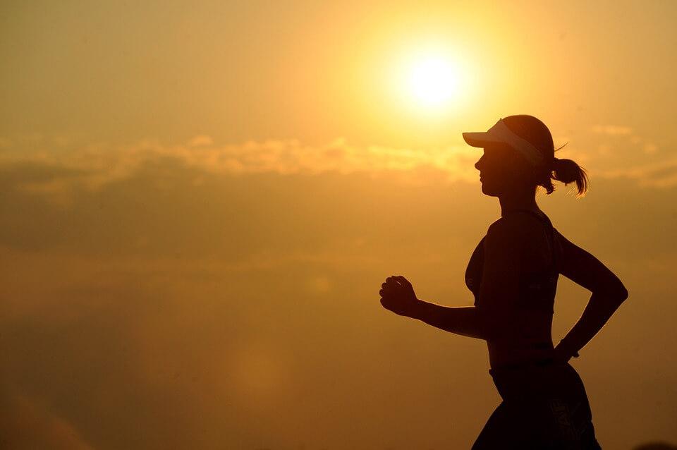 running in morning