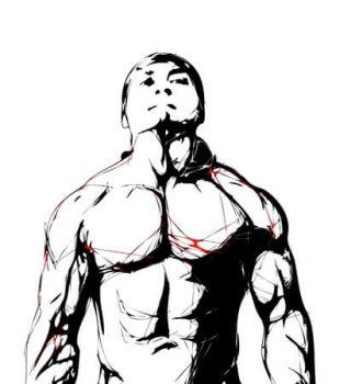 illustration of fighter