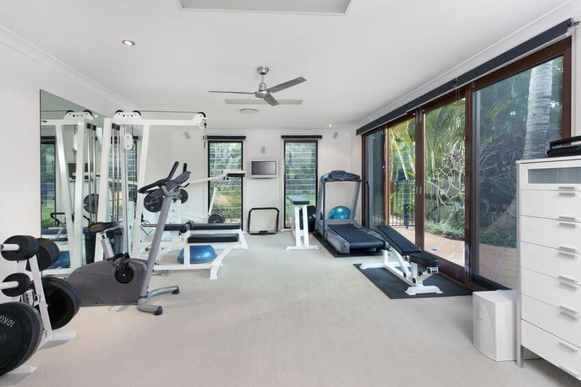 Stay fit at home with a garage gym