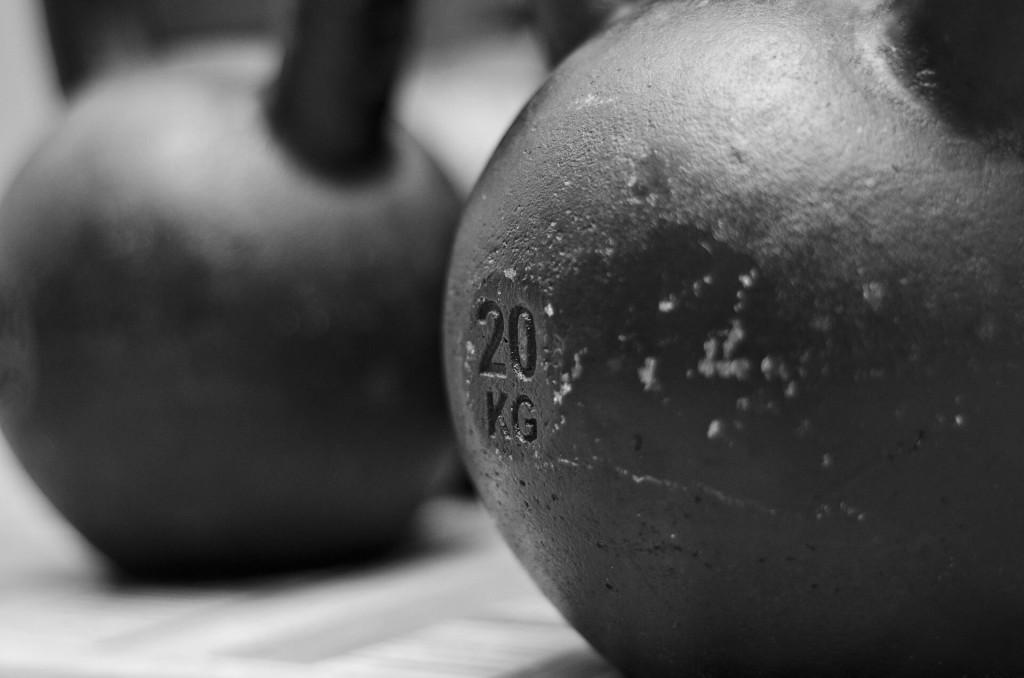 kettlebell wieght 20kg gym workout