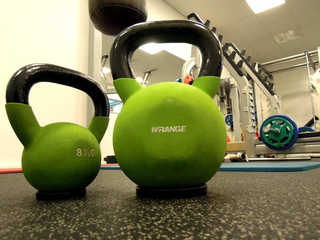 weights kettlebell workout gym