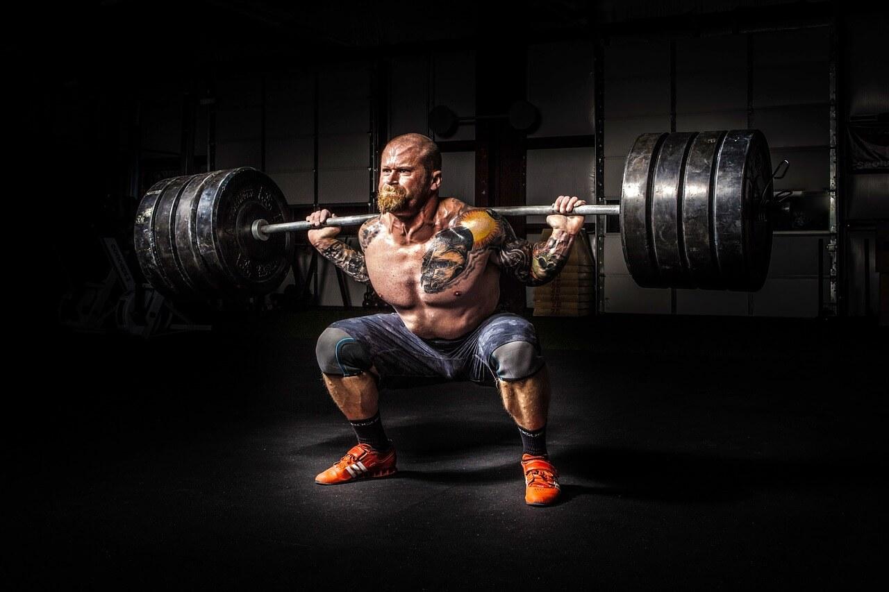 powerlifting men