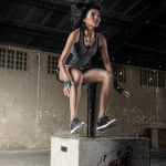 women during workout crossfit gym