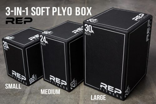 REP 3-in-1 Soft Plyo Boxes