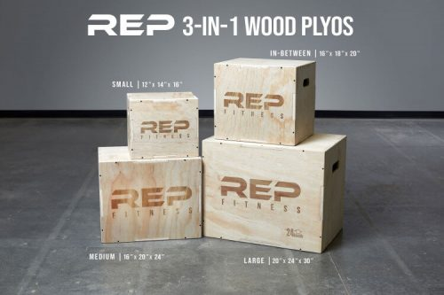 REP 3-in-1 Wood Plyo Boxes