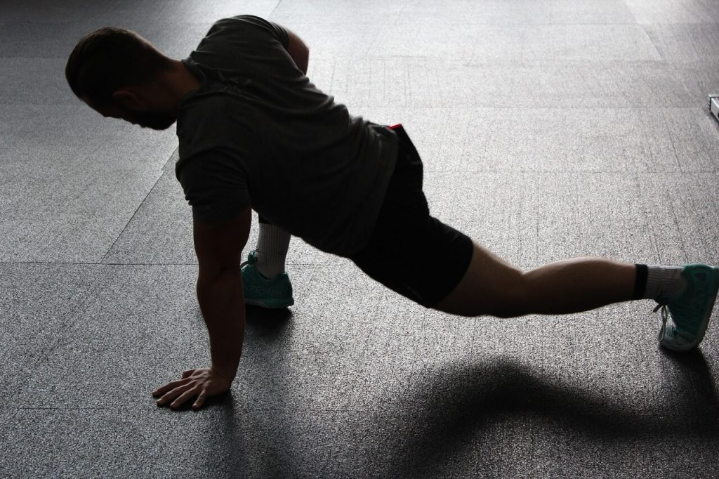 fitness stretching concept