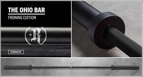 Rogue Athlete Cerakote Ohio Bar – Froning Edition