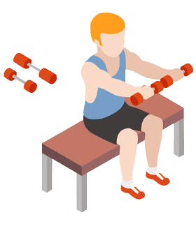 barbel workout