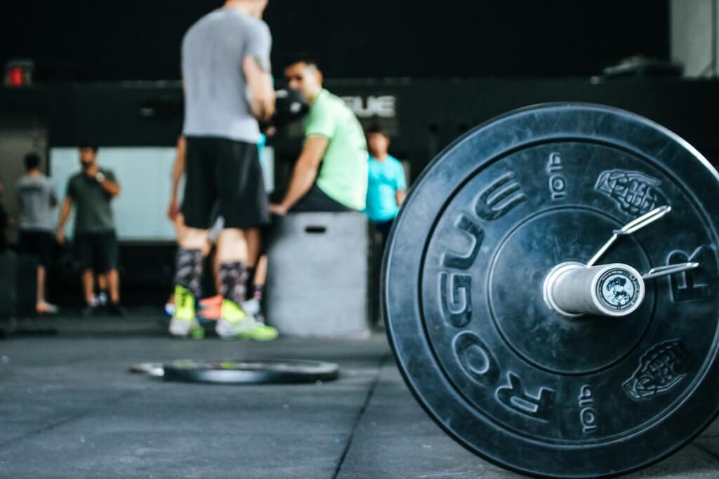 Rogue fitness barbell and CrossFit gym