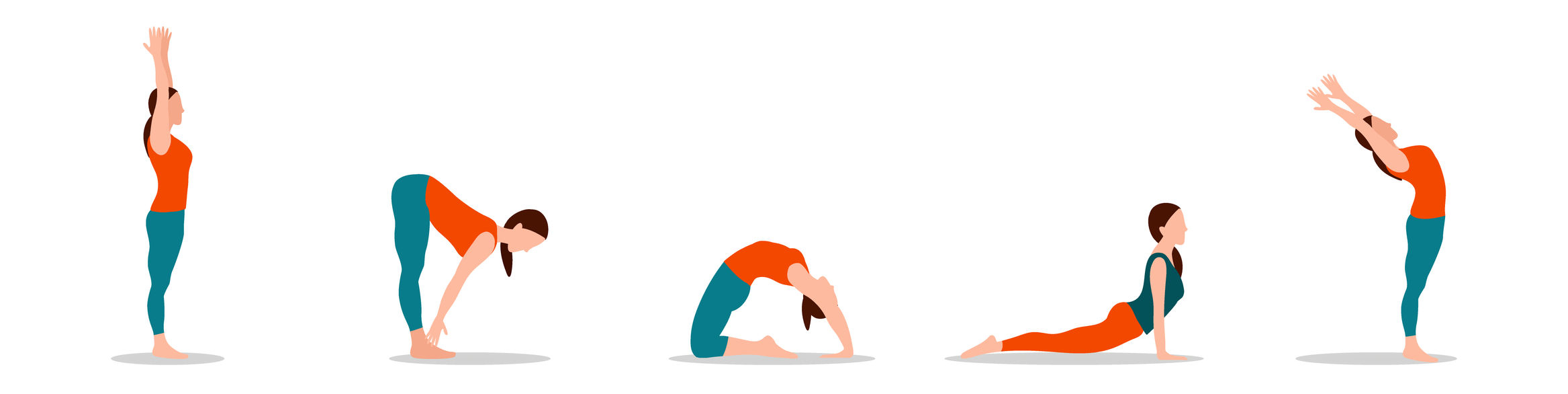 different yoga poses to do at home