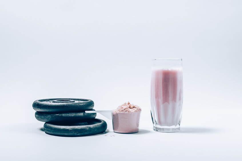 tasty Whey protein shake