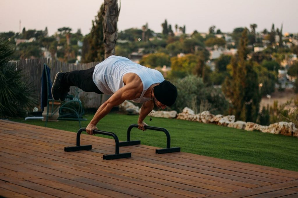 Essential calisthenics workout equipment for home or garage gym