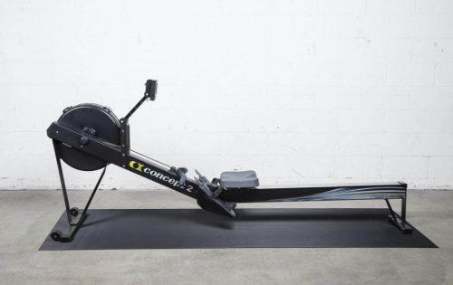 E-Z Kleen Vinyl Rower Mat