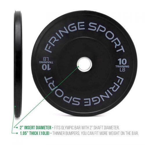 Fringe Sport Contrast Bumper Plate Pairs