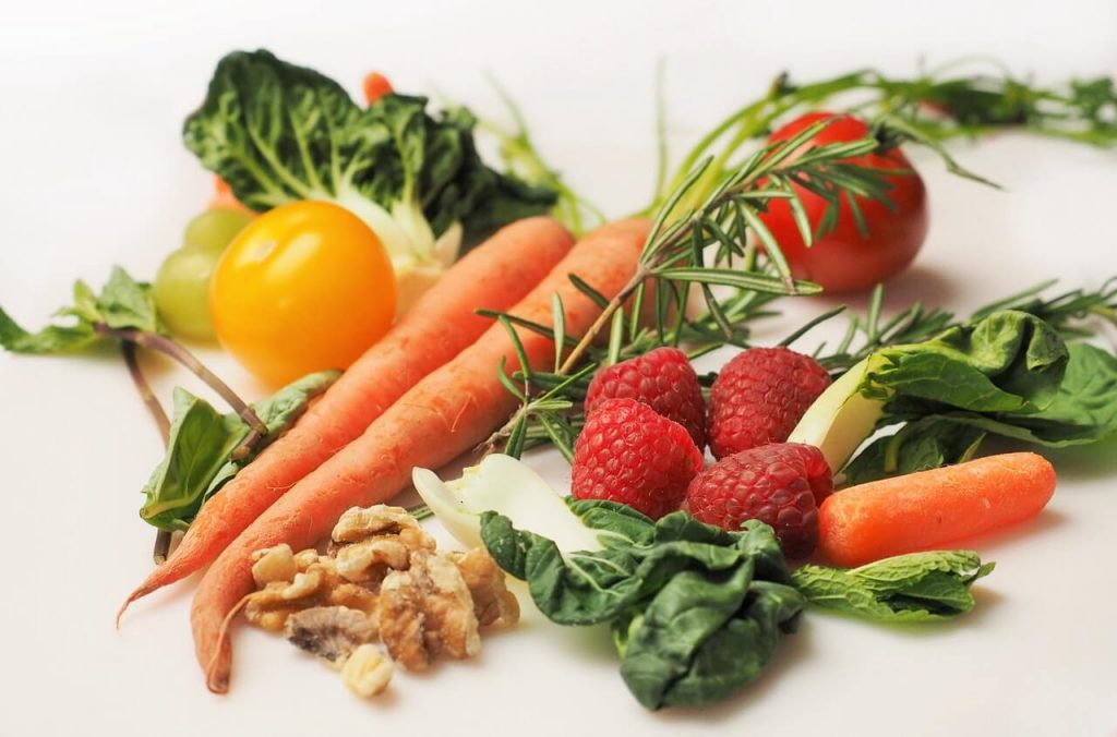 vegetables - healthy living concept