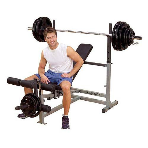 Body-Solid GDIB46L Incline Bench Press