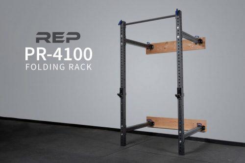 REP PR-4100 Folding Wall Mount Power Rack