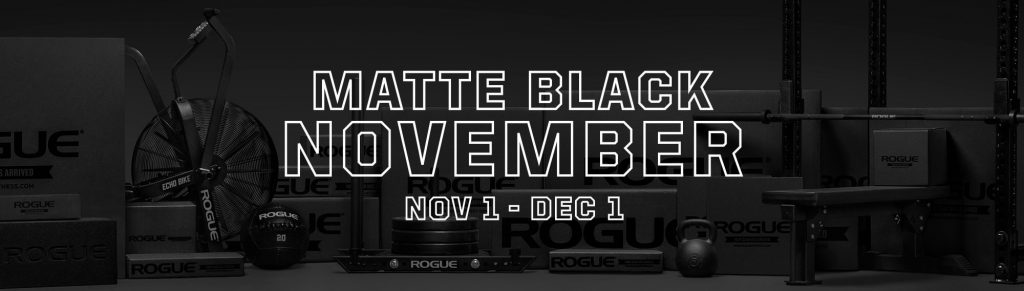 Rogue Fitness Black Friday Banner
